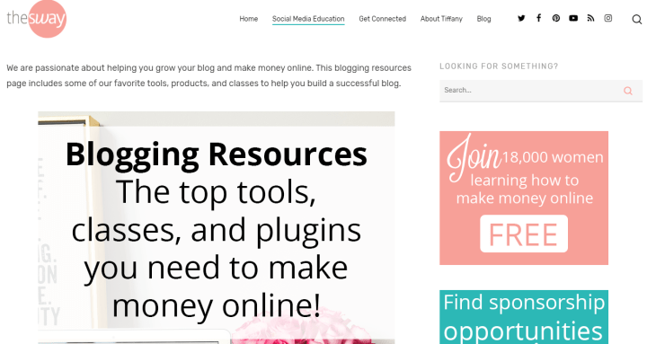 blogging resource for work at home moms