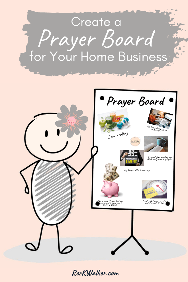 How can you know God's vision for your home business and life? Here are 8 steps to knowing and steps to creating a vision prayer board.