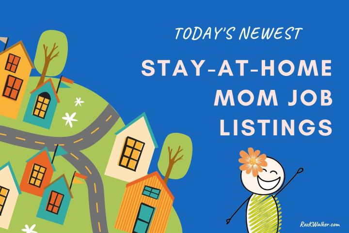 stay at home mom jobs online listings