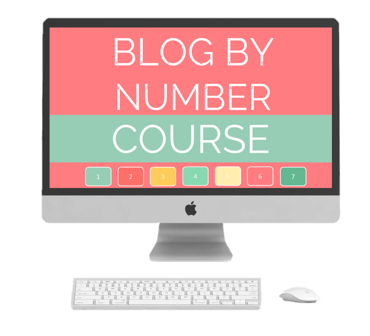 How to start a mom blog using the Blog by Number Course