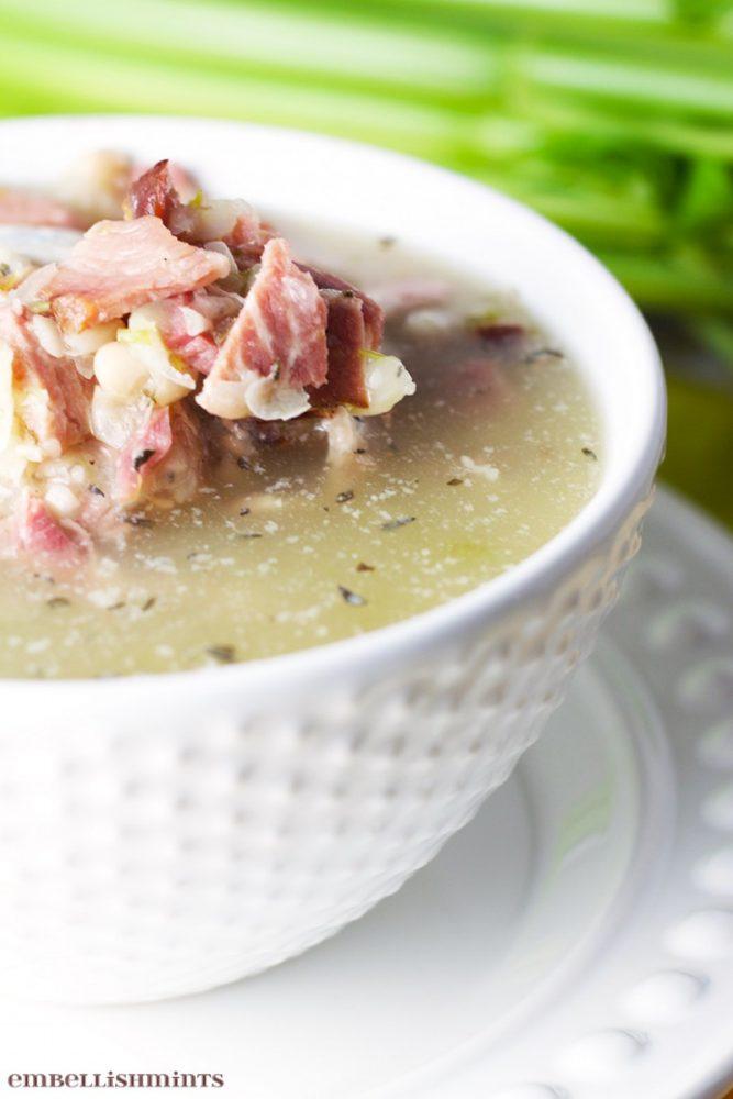 Ham-and-Bean-soup-Recipe