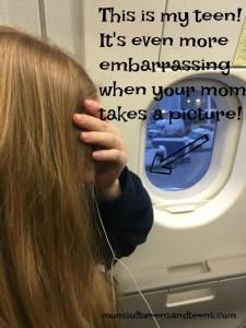 I embarrass my teen tween