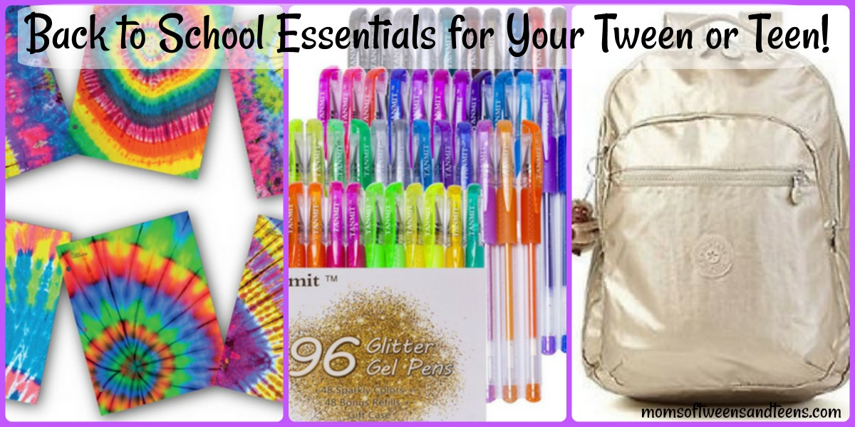 10 Back to School Essentials for Tween and Teen Girls