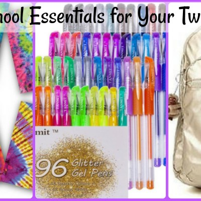 10 Back to School Essentials for Tween and Teen Girls