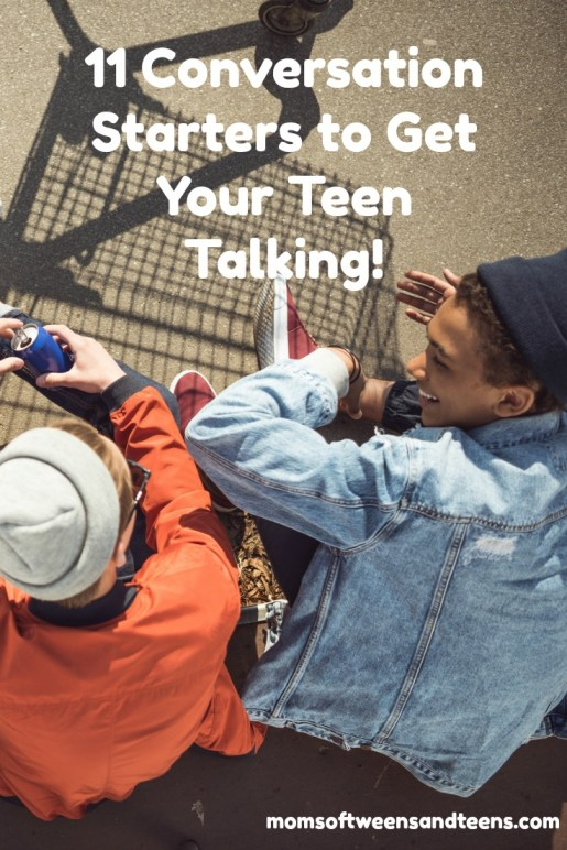 how can I get my teen to talk to me