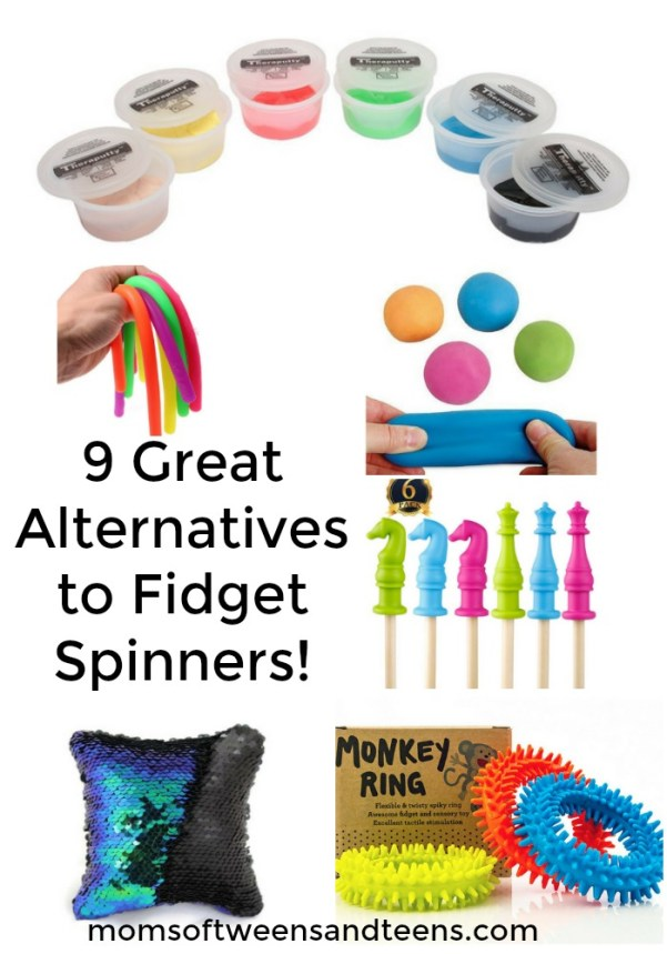 alternatives to fidget spinners