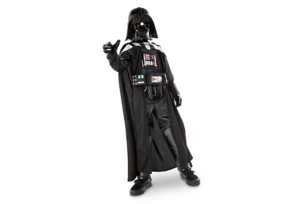 best darth vader for tween boy costume