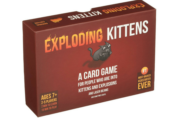 best family board games exploding kittens