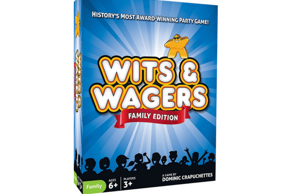 best family board games wits and wagers