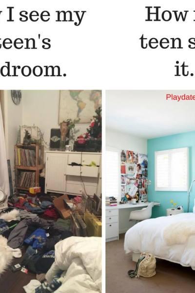 get my kid to clean his room