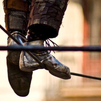 Parenting Older Kids is Like a High Wire Act Without a Net