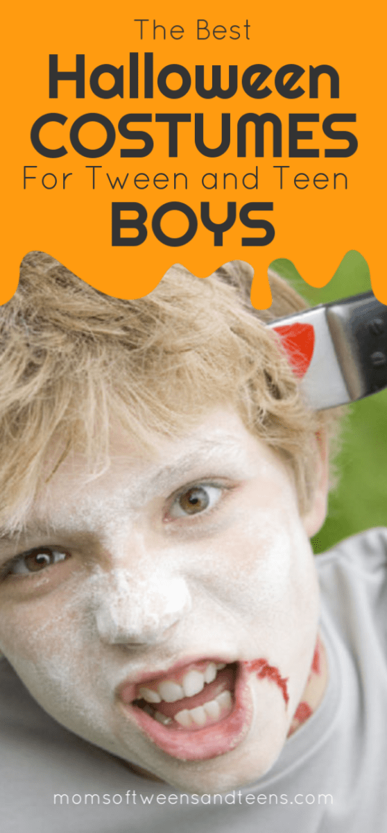 Halloween costume ideas for our tween and teen boys