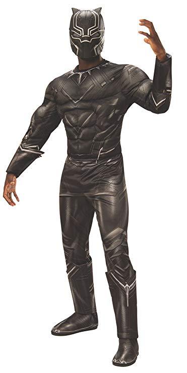 tween teen boy halloween black panther