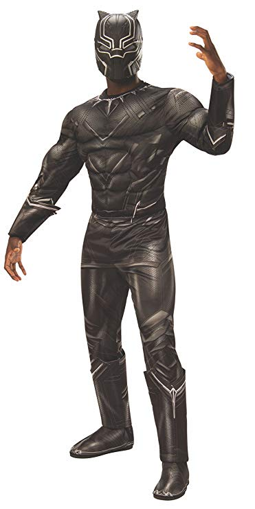 tween teen boy halloween black panther