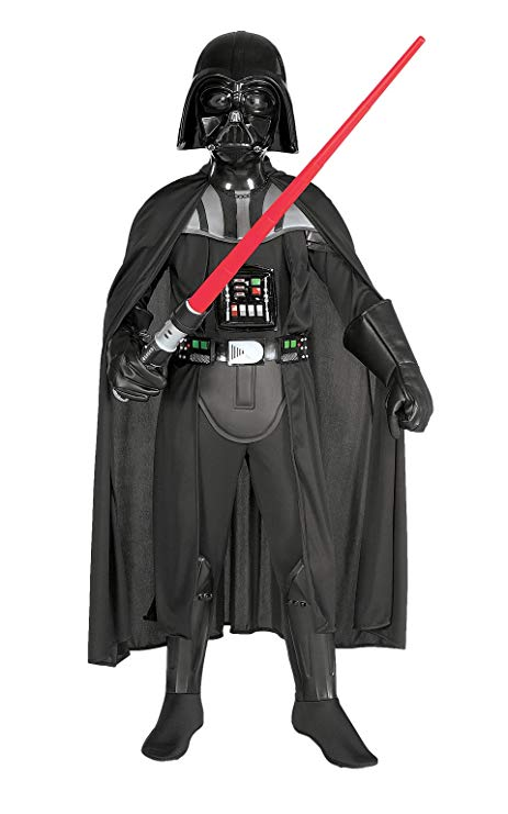 darth vader halloween costume boy