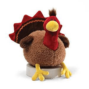 cute thanksgiving turkey stuffed animal