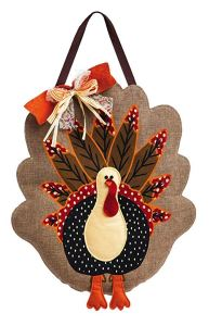 hanging turkey door wall