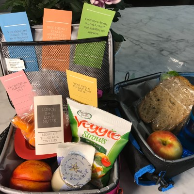 Starting the First Day of School Lets Put A Love Note In Our Teen's and Tween's Lunch Bag