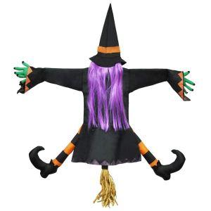 Crashing Witch into Tree Decoration