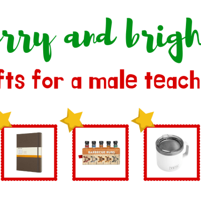 Male Teacher Gift Guide