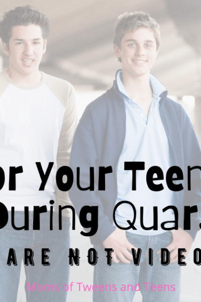 for your teenage boy to do during quarantine