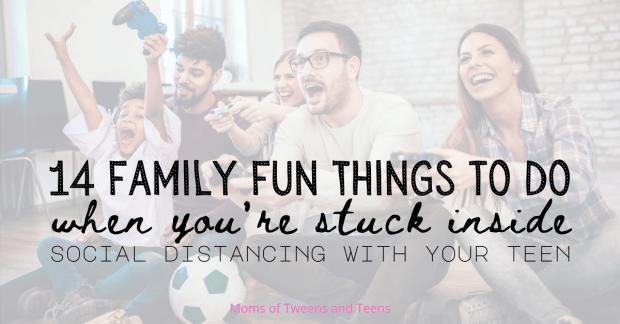 ideas for fun teenager quarantine social distance