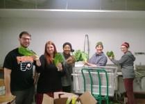 Produce team talks greens