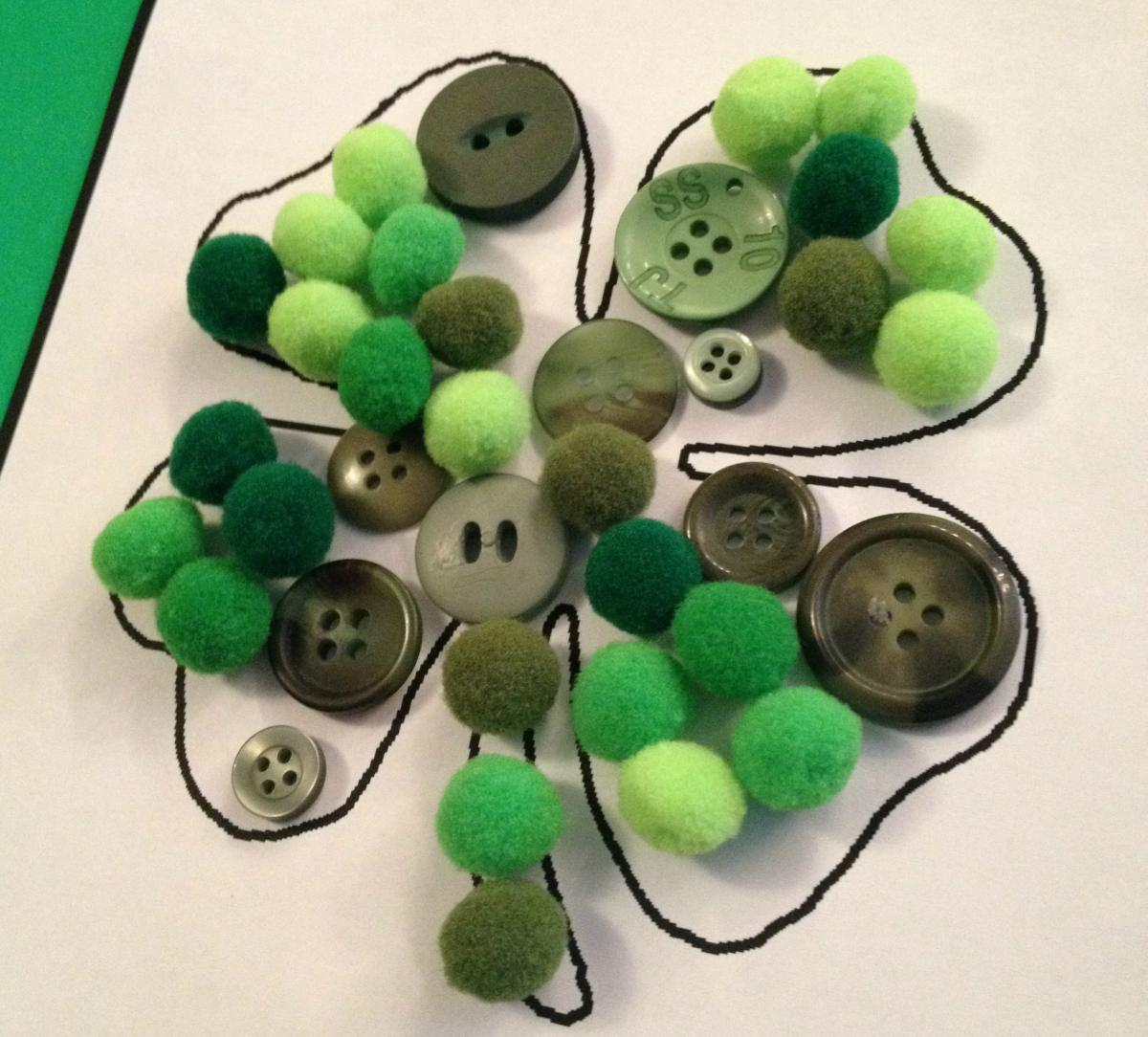 Simple Shamrock Craft And Poem For Toddlers