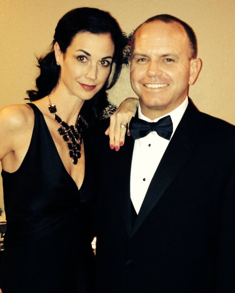 tricia and husband NYE 2013