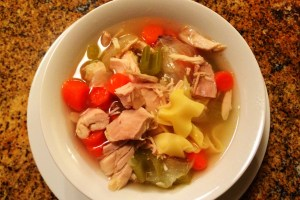 Nana's Easy Kosher Chicken Noodle Soup Recipe