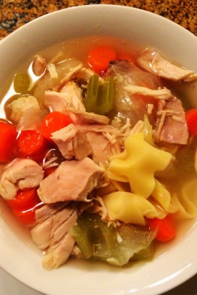 Nanas easy kosher chicken noodle soup recipe