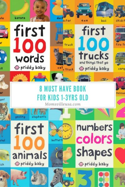 8 Must Have Books for Kids Ages 1-3