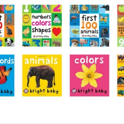 8 Must Have Books for Kids Ages 1-3, Numbers, Colors, Animals