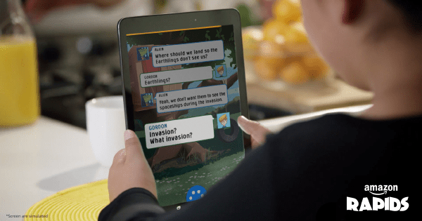 Amazon Rapids Reading App for Kids