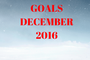 Monthly Goals – December – MomsvilleUSA