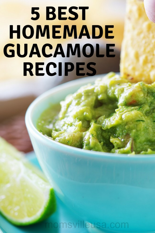 best homemade guacamole recipes