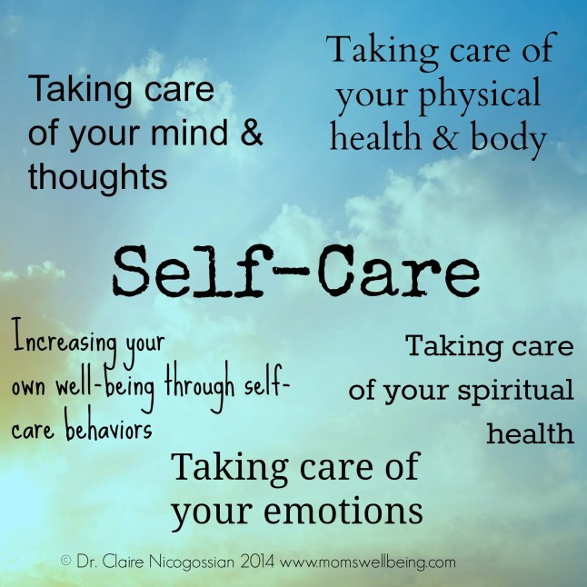 Taking care of self is self-care