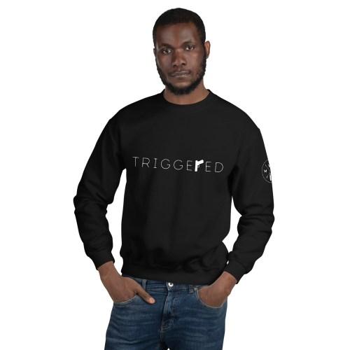 Triggered Unisex Crew Neck Sweatshirt