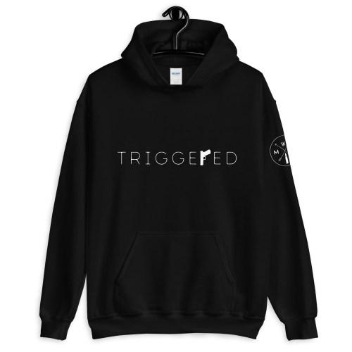 Triggered Unisex Hoodie