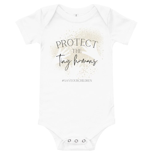 Protect the Tiny Humans Baby Bodysuit