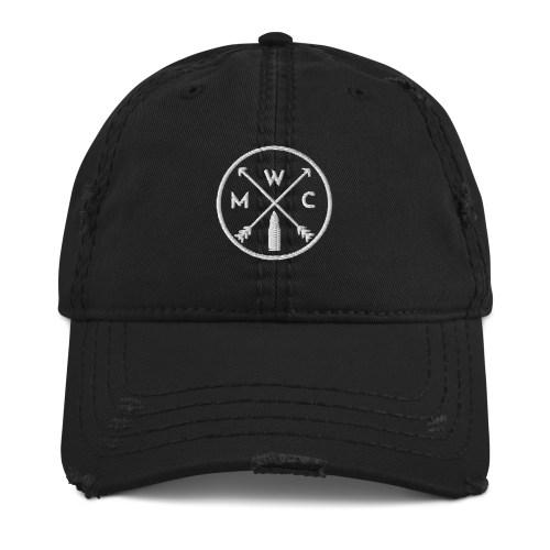 MWC Logo Distressed Dad Hat