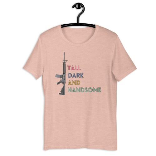Tall Dark and Handsome AR-15 Short-Sleeve Tee