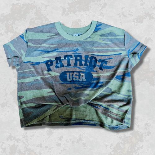 Patriot USA Camo Crop Tee
