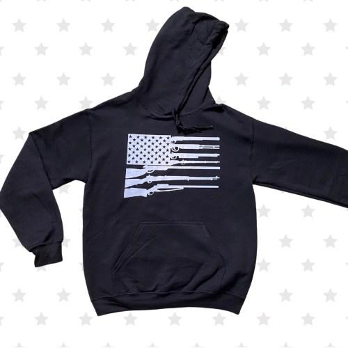 Gun Flag Hoodie