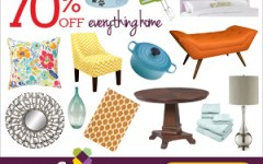 Up to 70% on Everything for Your Home at Wayfair + Get Exclusive Promo Codes