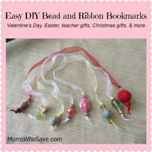 Easy DIY Bead and Ribbon Bookmarks — Updated!