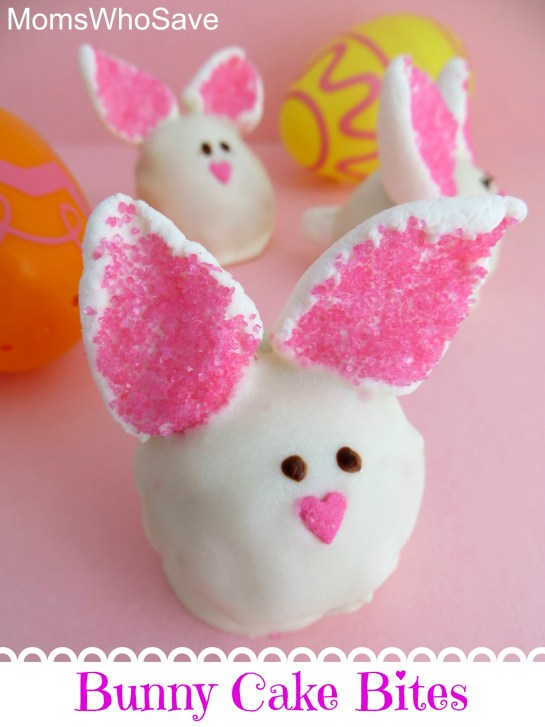 Bunny Cake Bites