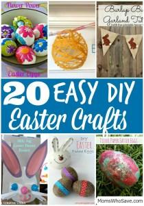 20 Easy DIY Easter Crafts