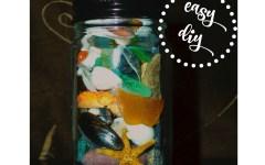 Beach Treasures Keepsake Jar -- Easy DIY