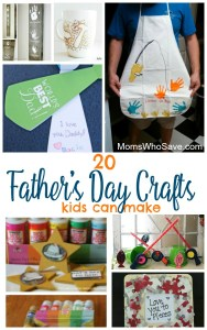 20 Father's Day Crafts Kids Can Make
